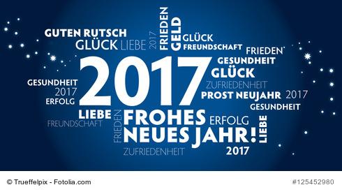 Alles Gute für 2017!